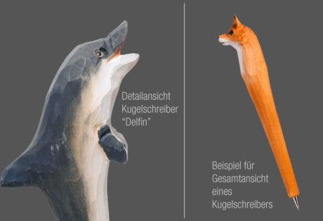 """Tier-Kugelschreiber """"Delfin"""""""