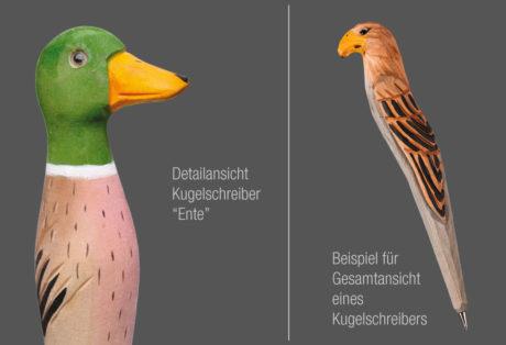 "Tier-Kugelschreiber ""Ente"""
