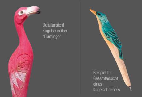 """Tier-Kugelschreiber """"Flamingo"""""""