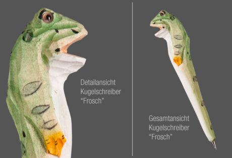 """Tier-Kugelschreiber """"Frosch"""""""