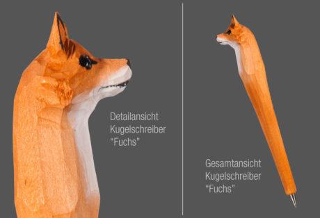 """Tier-Kugelschreiber """"Fuchs"""""""