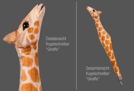 """Tier-Kugelschreiber """"Giraffe"""""""