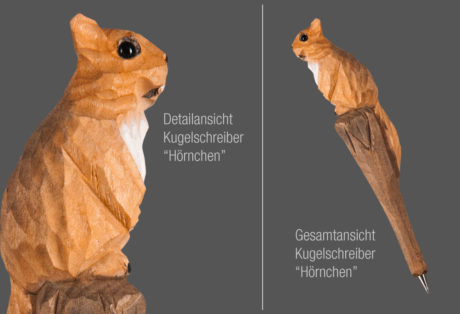 "Tier-Kugelschreiber ""Hörnchen"""