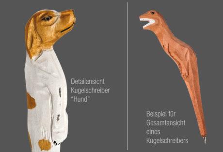 """Tier-Kugelschreiber """"Hund"""""""