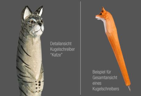 "Tier-Kugelschreiber ""Katze"""