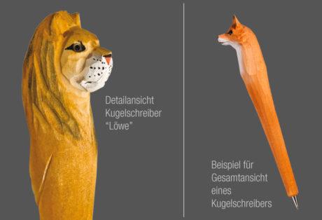 "Tier-Kugelschreiber ""Löwe"""