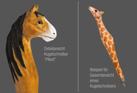 """Tier-Kugelschreiber """"Pferd 1"""""""