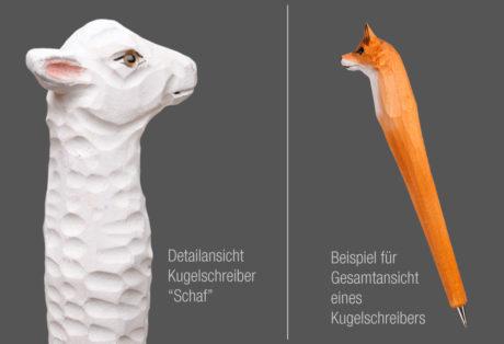 """Tier-Kugelschreiber """"Schaf"""""""