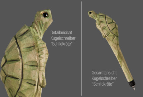 "Tier-Kugelschreiber ""Schildkröte"""