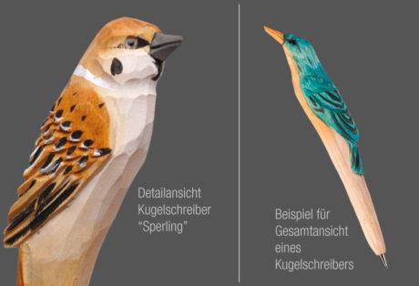 "Tier-Kugelschreiber ""Sperling"""