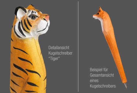 """Tier-Kugelschreiber """"Tiger"""""""