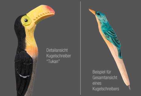 """Tier-Kugelschreiber """"Tukan"""""""